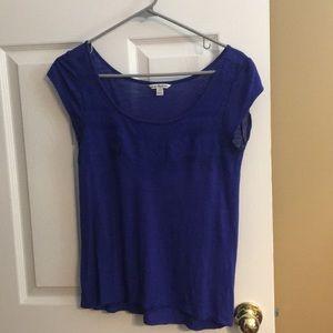 Blue American Eagle shirt